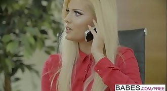 Babes - Office Obsession - Sensuous Delivery  starring  Ryan Rider and Candee Licious clip