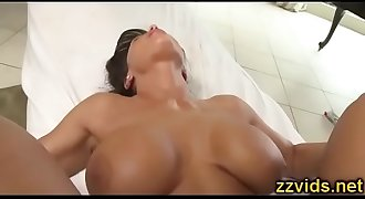 Lisa Ann awesome fuck after massage