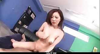 Smashing POV blowjob session with busty Ayami - From JAVz.se