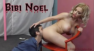 Hot Stripper Bibi Noel  And Her Ass Worship Slave