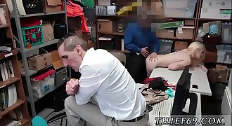 Police man fuck mom and patron'_s daughter Attempted Thieft