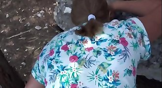 real fuck Blonde mature mom Outdoor bbw ass Web doggy Panties POV cum Public